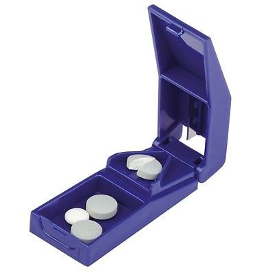 Portable Tablet Pill Cutter Splitter Medicine Sapsule Holder Box  available at amazon for Rs.159
