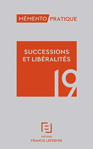 MEMENTO SUCCESSIONS 2019 par  (Broché - Mar 27, 2019)
