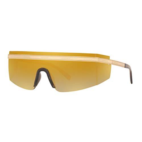 Ray-Ban Unisex-Erwachsene 0VE2208 Sonnenbrille, Schwarz (Gold), 40.0