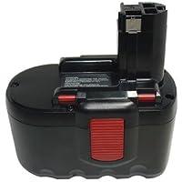[ 2000mAh,24.00V,Ni-Cd ],Replacement Power Tools Battery for BOSCH ,Compatible Part Numbers: 2607335268, 2607335279, 2607335280, 2607335445, 2607335446, 2607335448, 2607335509, 2607335510, 2607335537, 2607335538, 2607335561, 2607335562, 2607335637, 2607335645, B-8230, BAT030, BAT031, BAT240, BAT299, BH-2424, BTP1005,