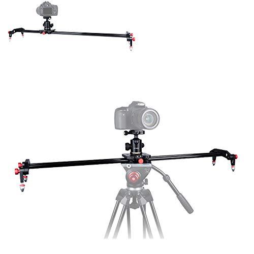 LFTS SLR Kamera Dämpfungsschieber Video Stabilisator 80cm / 311⁄2in Silent Bearing Luftfahrt Aluminiumlegierung 1/4