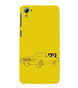 EPICCASE Vintage car 1973 Mobile Back Case Cover For HTC Desire 826 (Designer Case)