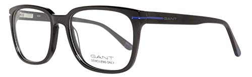 GANT Herren Brillengestelle Brille GA3105 52001, Schwarz, 52