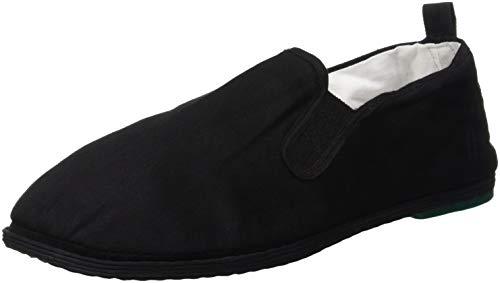De fonseca lunga m100, pantofole a collo basso uomo, nero, 42 eu