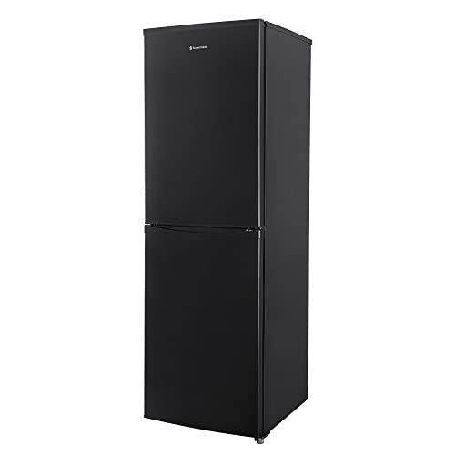 31ZHCnQsdPL. SS500  - Russell Hobbs RH55FF176B Black 55 cm wide 176cm high Freestanding No Frost Fridge Freezer