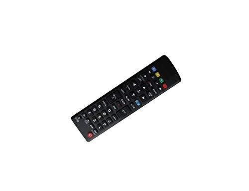Calvas Fernbedienung für LG 40UH630V 43LH604V 49LH604V 55UH605V AKB73715686 43LF540V 43UF675V 49LF540V LED LCD WEBOS HD TV