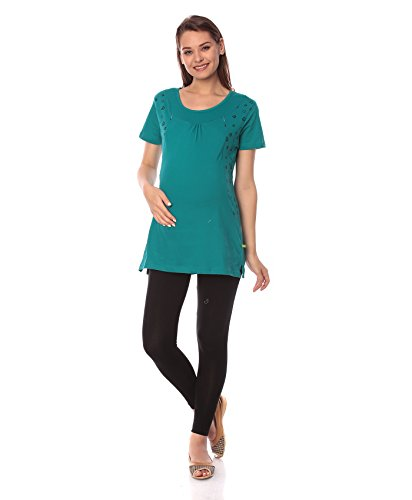 2a817e94250 Goldstroms Long Maternity/Nursing/Feeding tee is designed with Hidden  Vertical Zipper. Made of super soft 100% combed cotton fabric which  provides ...