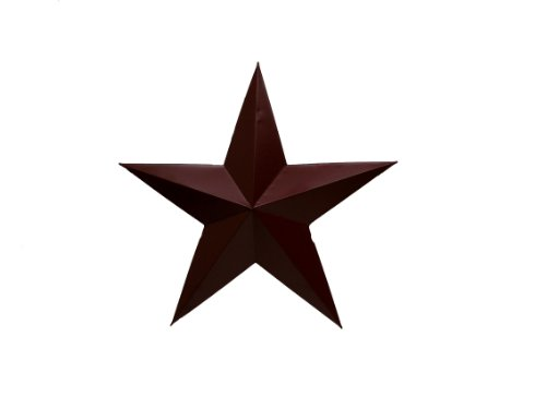 Craft Auslass INC Barn Rot Dose Star Wand Décor, mehrfarbig, 28 cm, - Artwork-wand-dekor-rot