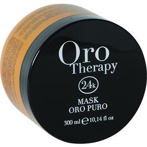 Maschera Oro Puro 1000 ml Con Cheratina ed Argan - Fanola Oro Therapy 24k