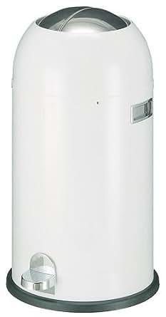 Wesco Kickmaster 33 Liter Design Mülleimer weiß
