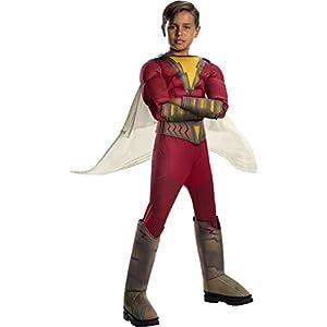 Rubie's Official DC Comic Shazam! Movie, Superhero Childs Deluxe Costume, Size Medium Age 5-7 Years