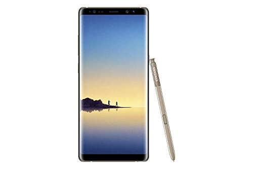 """Samsung Galaxy Note 8 - Smartphone DE 6.3"""" (4G, WiFi, Bluetooth, Exynos 8895 Octacore 2.3 GHz + 1.7 GHz, 64 GB de Memoria Interna, 6 GB de RAM, Cámara Dual DE 12 MP, Android 7.1.1) Dorado"""