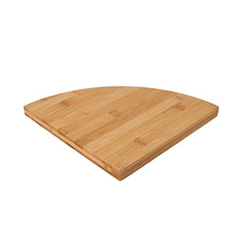 Mensole galleggianti Mensole angolari soggiorno angolari in legno massello a forma di ventaglio semplici e moderni