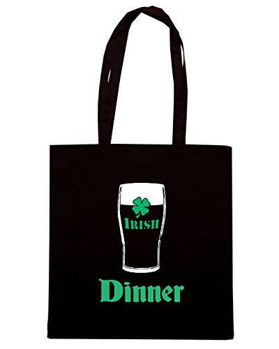 T-Shirtshock - Borsa Shopping BEER0029 Nero