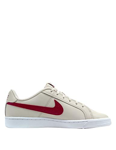 NIKE Damen Court Royale (Gs) Tennisschuhe, Mehrfarbig (Desert Sand/Red Crush-White 008), 36.5 EU