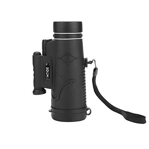 Dilwe monocolo impermeabile HD, 50x 60diverse combinazioni 50TIMES Phone clip telescopio con rapido adattatore per smartphone e treppiede per uccelli watching Hunting hiking traveling, Combo 4