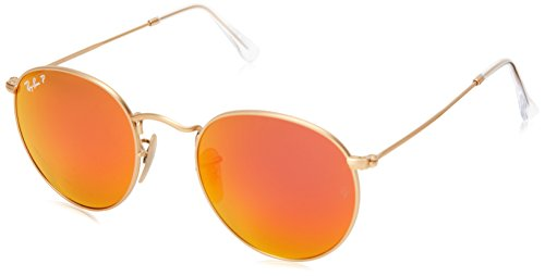 Ray-Ban Unisex Sunglasses Round Metal