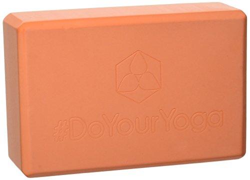 #DoYourYoga® Yogablock | Yogaklotz »Aruna« – sehr Leichter Hartschaum Yoga-Block zur Unterstützung spezieller Yoga-Übungen & Asanas – ca. 23x15x7,5cm | 170g