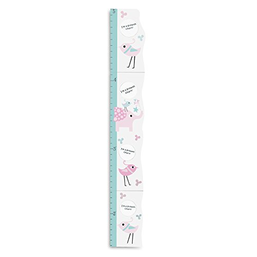 Preisvergleich Produktbild Hoddmimis Home & Living Kids Growth Height Ruler MDF with Picture Frames (Elephant)