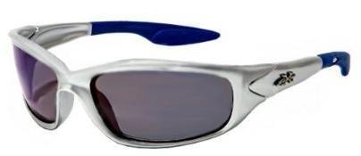 moda Kinder K20 Sonnenbrille Uv400 bewertet Alter 3-10 1 2 Kinder Silver & Ice Blue
