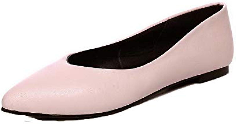 les talons de agoolar a de tirer sur les solides de a faible b07h8b7d83 chaussures chaussures fermées, gmddb010754 par en t 482905