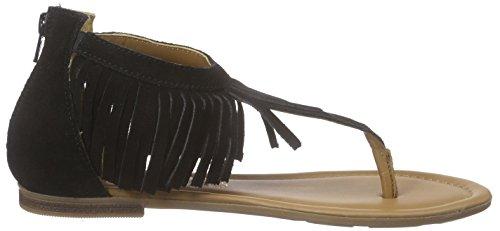 s.Oliver 28140, Tongs femme Noir - Noir