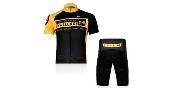 LIVESTRONG Cycling Jersey Set(available Size  M 48469b860