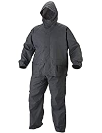 BENJOY Bike/Scooter Water Proof Rain Suit with Hood-Black
