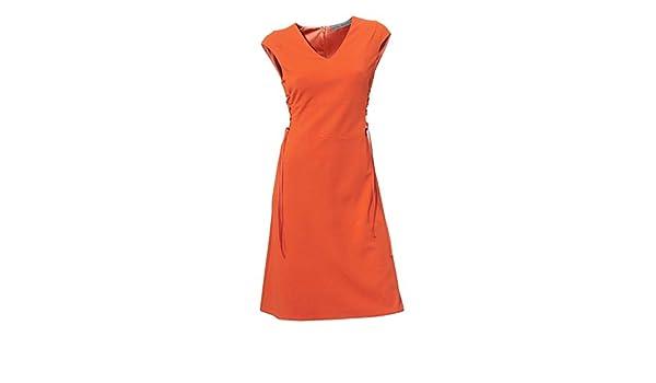 Ashley Brooke Damen Designer-Bodyforming-Prinzesskleid orange