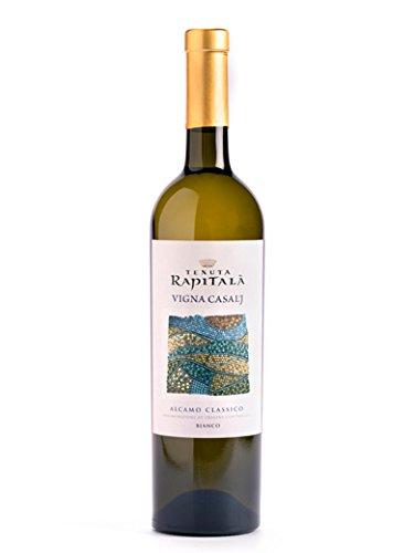 VIGNA CASALJ Alcamo Classico DOC - Tenuta Rapitalà - Vino bianco fermo 2017 - Bottiglia 750 ml