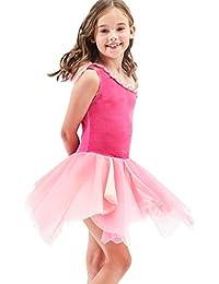 476bbeb781a62 New Dance Princesse Ballet Danse par Couches Tulle Tutu Jupes Mode Bébé  Enfants Filles ...