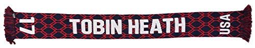 Ruffneck US Women's National Team Player-Tobin Heath Soccer Scarf, Blue, One Size