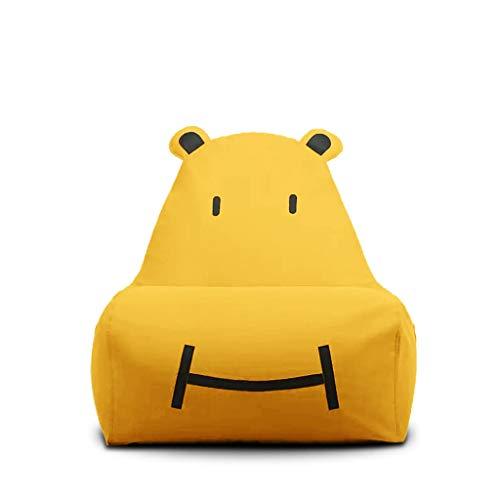 Gtt Kinder Kinder Gepolsterte Sessel Stoff Sitzsack Tragbare Kissen Geeignet für Kindermöbel Im Raum Faule Stuhl Multi-Color-Auswahl (Color : PINK, Size : 29.5 * 24.4 * 25.5IN) -
