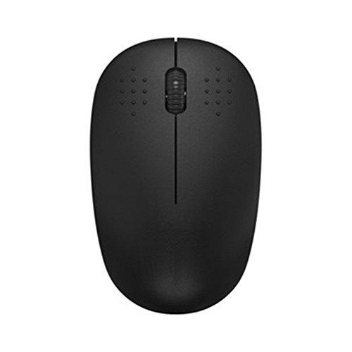 OVINEE Mini Drahtlose optische Scroll-Maus 2,4 GHz USB für Laptop mit Tablet Drahtlose Maus V181 Schwarz -
