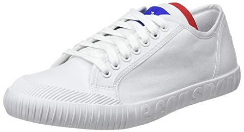 Le Coq Sportif Nationale, Sneaker Unisex-Adulto, Bianco Optical White, 45 EU