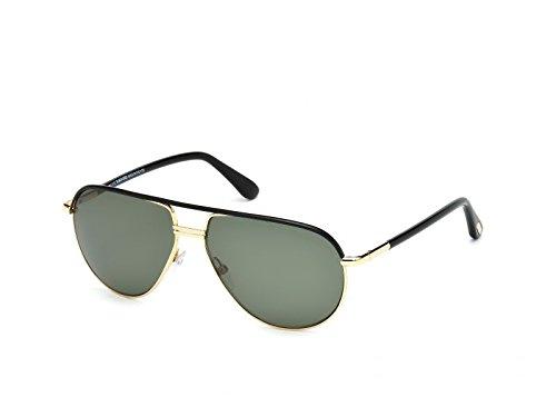 Tom Ford Sonnenbrille Ft285 01J (61 mm) schwarz/grün