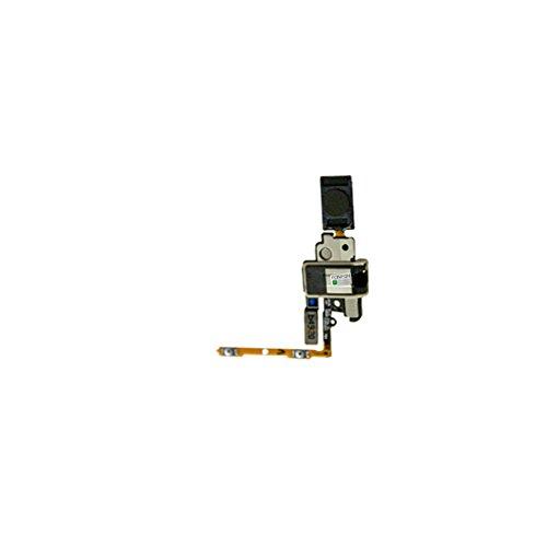 FONFON Audio Jack porta del connettore pulsante Presa casa connettore del cavo flessibile per gli auricolari per Samsung Galaxy Alpha SM-G850F