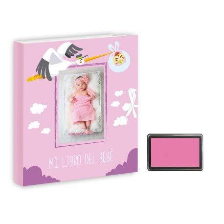 Libro bebé. Álbum recuerdos bebé. Personalizado