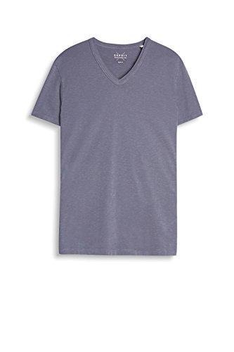 ESPRIT Herren T-Shirt 047ee2k013 Grau (LIGHT GUNMETAL 045)