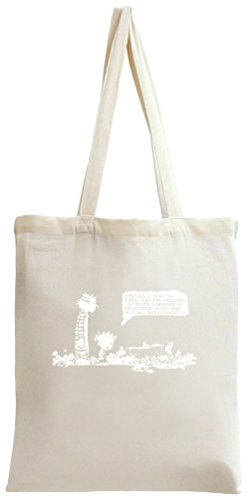 Calvin And Hobbes Intelligent Life Tote Bag -