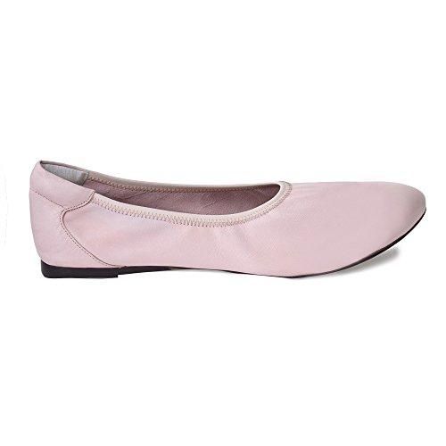Cocorose London Scarpe Pieghevoli - Bloomsbury Scarpe da Ballet Donna Rosa pastello