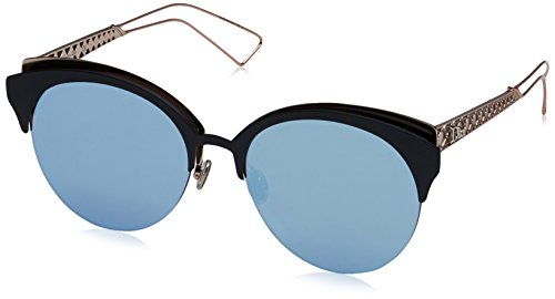 Dior Damen DIORAMACLUB A4 FBX Sonnenbrille, Blau (Mttbluee Pink/Light Blue Grey Speckled Marl), 55