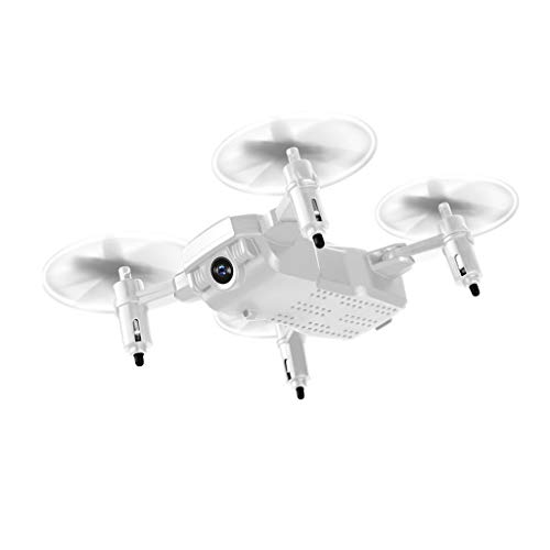 Dtuta Drohnen Mit Kamera Und Bildschirm,Aerial Mini HöHensteuerung Fernbedienung Vierachsen Drohne Kamera Flugzeuge Stummes Licht Und Kompaktes Falten Einfach Zu Tragen
