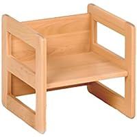 Kindermöbel Wendehocker Holz, praktischer Kinderhocker der mitwächst, Buche preisvergleich bei kinderzimmerdekopreise.eu