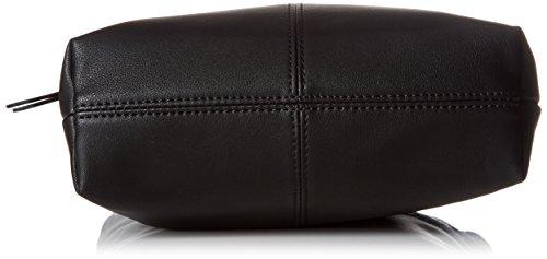 Le Temps des Cerises Damen Pure 6 Umhängetasche, 8x28x22 centimeters Schwarz (Noir)