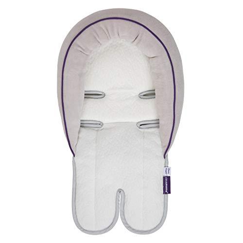 Clevamama ClevaFoam Autositzkissen für Kopf und Nacken - Neugeborene und Baby Kissen