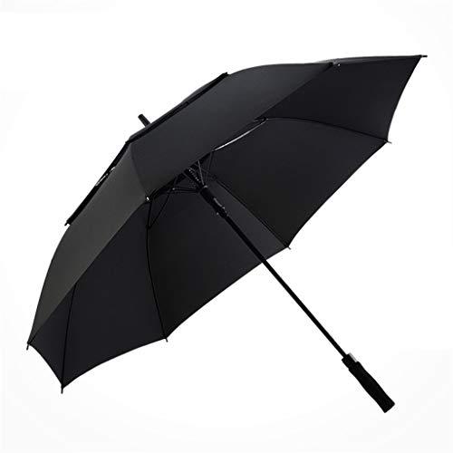 Giow 62 Zoll Doppel Extra Large Oversize Golfschirm Baldachin belüftet Winddicht wasserdicht Stock Regenschirme -