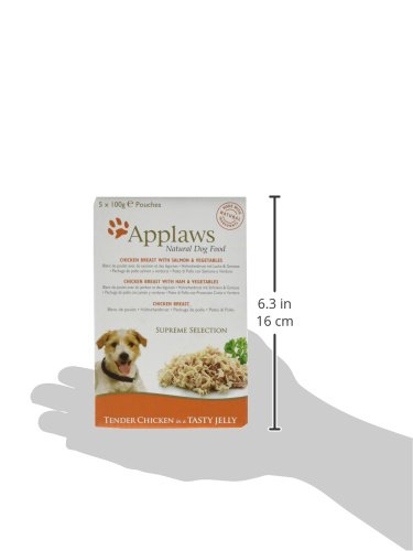 Applaws Natural Dog Food, Multipack, Finest Collection,In Jelly Pouch, 100g (Total Pack of 20) 6