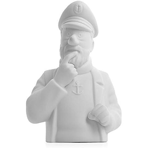 Busto de porcelana Haddock pensativo Moulinsart Mate 12cm - 44206 (2014)