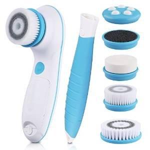 dbpower-nettoyant-electrique-brosse-visage-et-corps-etanche-6-en-1-avec-2-vitesses-rglables-pour-les